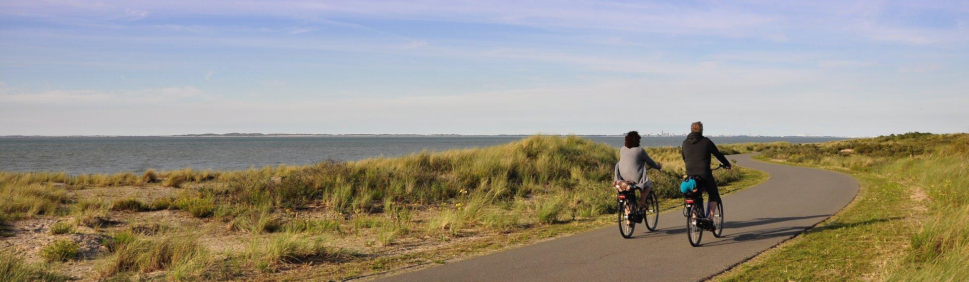 fietsen kust Nieuwvliet